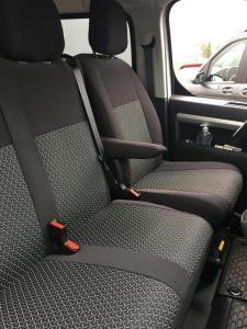 Toyota Proace lavice zabudovaná v plastu design Premium vzor 61/A 6 míst