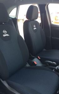 Opel Crossland vzor č. 83 bok A + dvojité prošití
