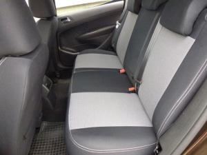 Peugeot 308 vzor č. 57 bok A + dvojité prošití