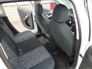 Peugeot 2008 vzor č. 206 bok A + dvojité prošití