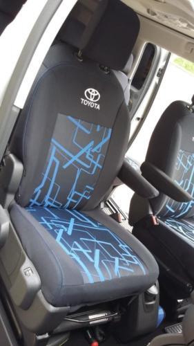 Toyota Proace vzor č. 73 bok A + dvojité prošití