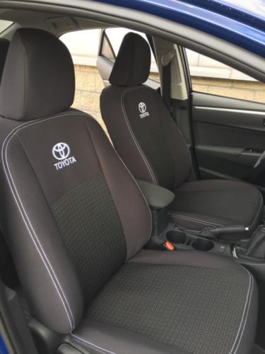 Toyota Corolla vzor č. 88 bok A + dvojité prošití